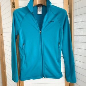 Sz XS Patagonia  Polartec full zip jacket pockets